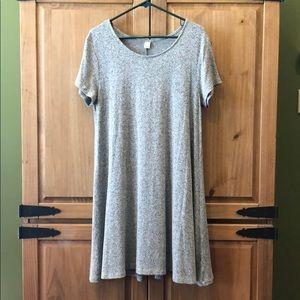 Gray Old Navy swing dress. Size Large. EUC.